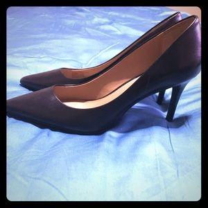 Classic Calvin Klein Black High Heels
